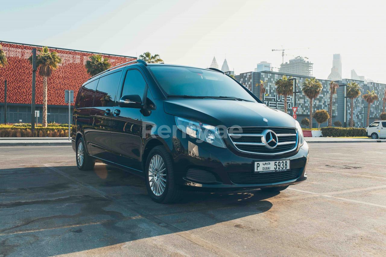 Mercedes V Class V250 for rent in Dubai at Renty - photo