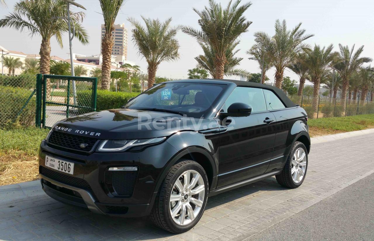 Range Rover Evoque Convertible for rent in Dubai at Renty - photo