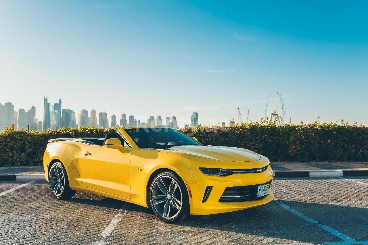 Chevrolet Camaro for rent in Dubai at Renty - photo