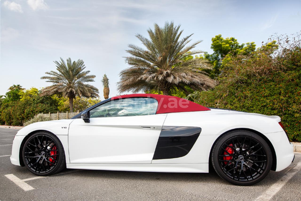 Audi R8 V10 Spyder for rent in Dubai at Renty - photo 0