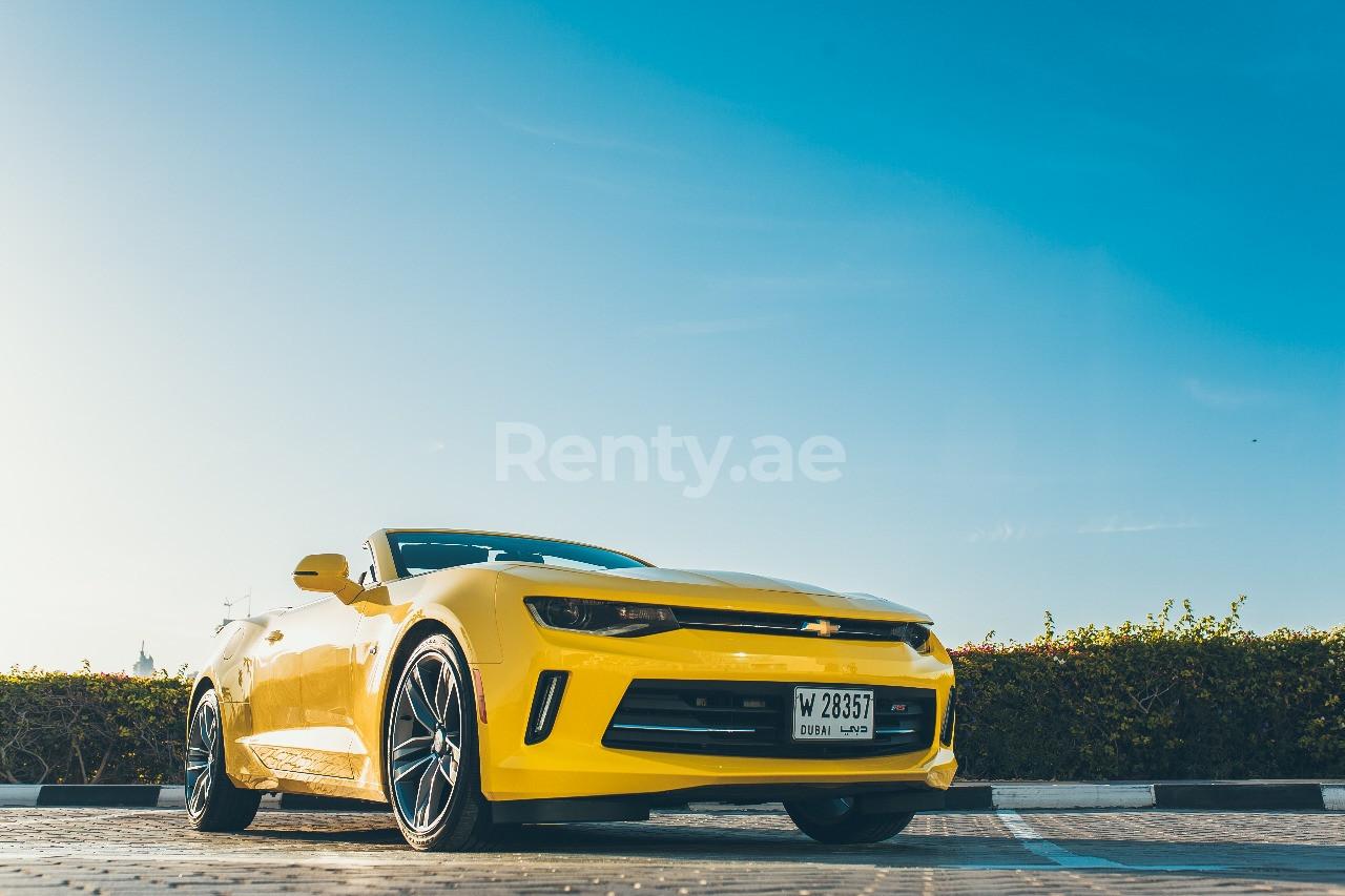 Chevrolet Camaro for rent in Dubai at Renty - photo 1