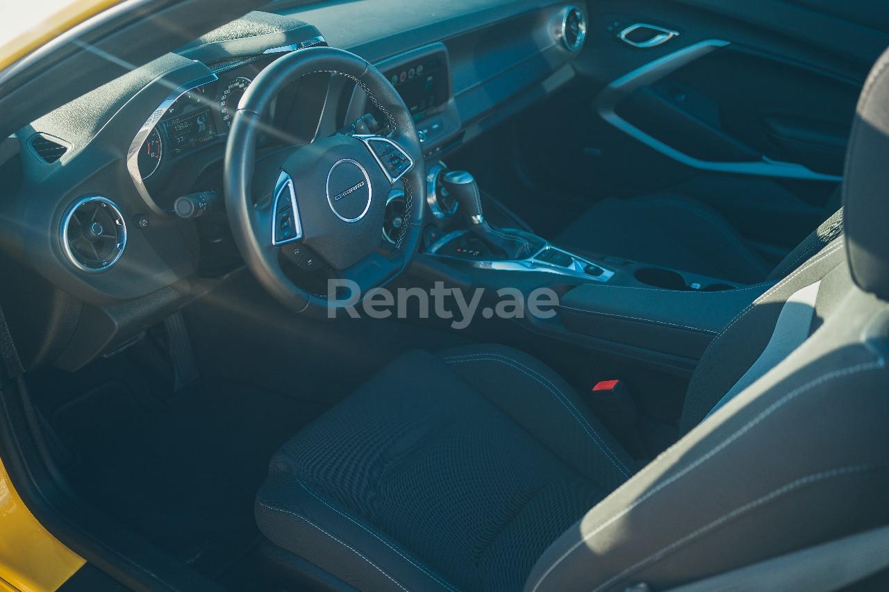 Chevrolet Camaro for rent in Dubai at Renty - photo 7