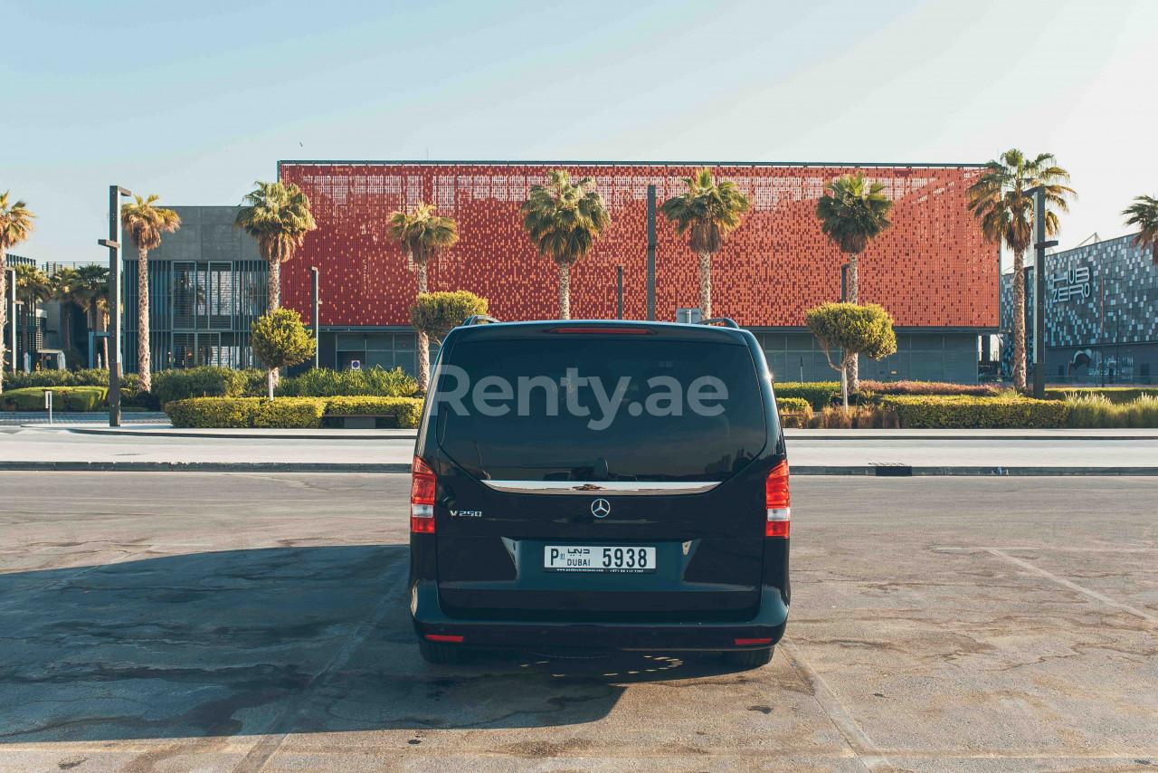 Mercedes V Class V250 for rent in Dubai at Renty - photo 1