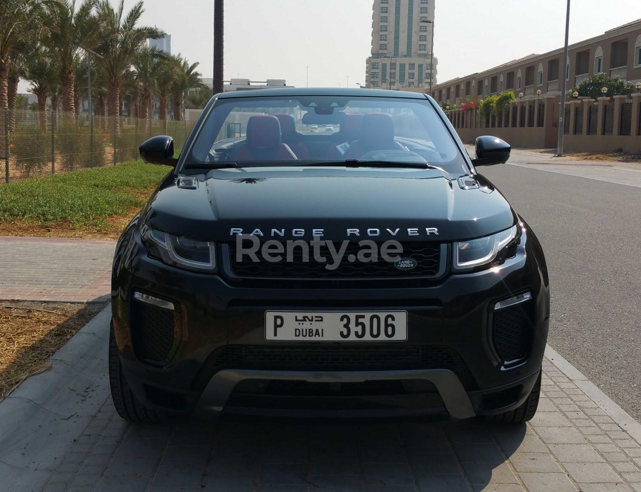 Range Rover Evoque Convertible for rent in Dubai at Renty - photo 0