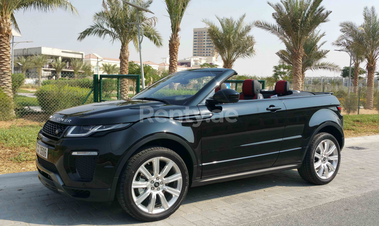 Range Rover Evoque Convertible for rent in Dubai at Renty - photo 1