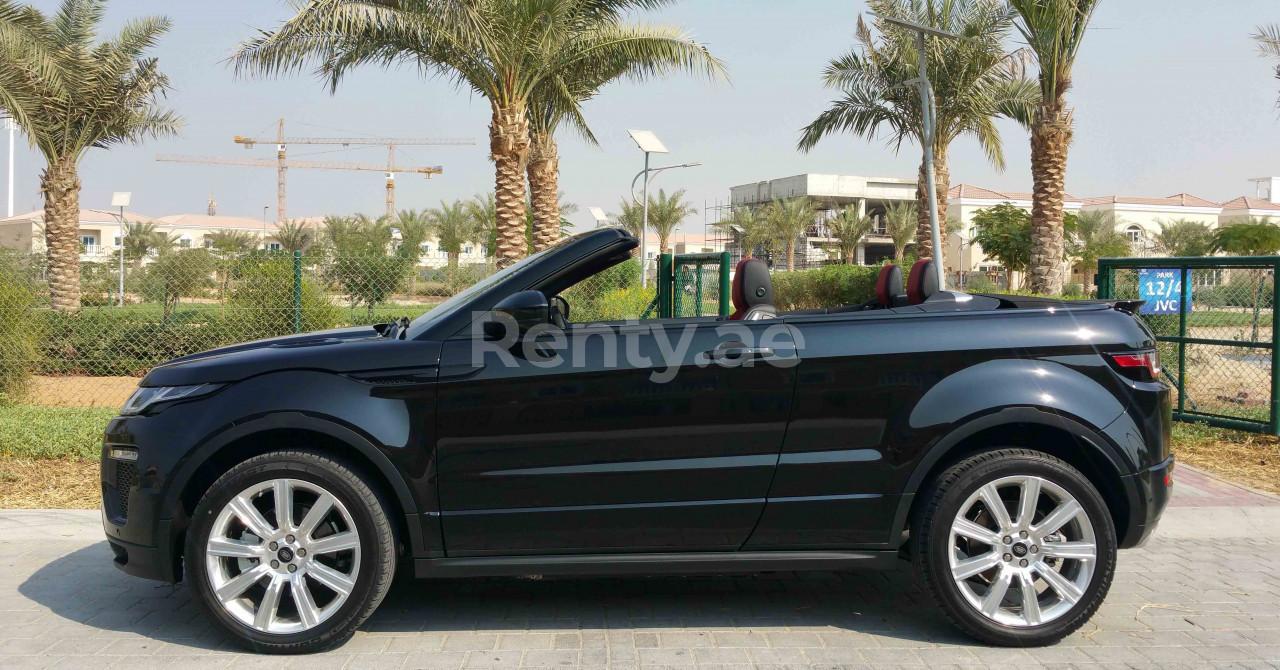 Range Rover Evoque Convertible for rent in Dubai at Renty - photo 2