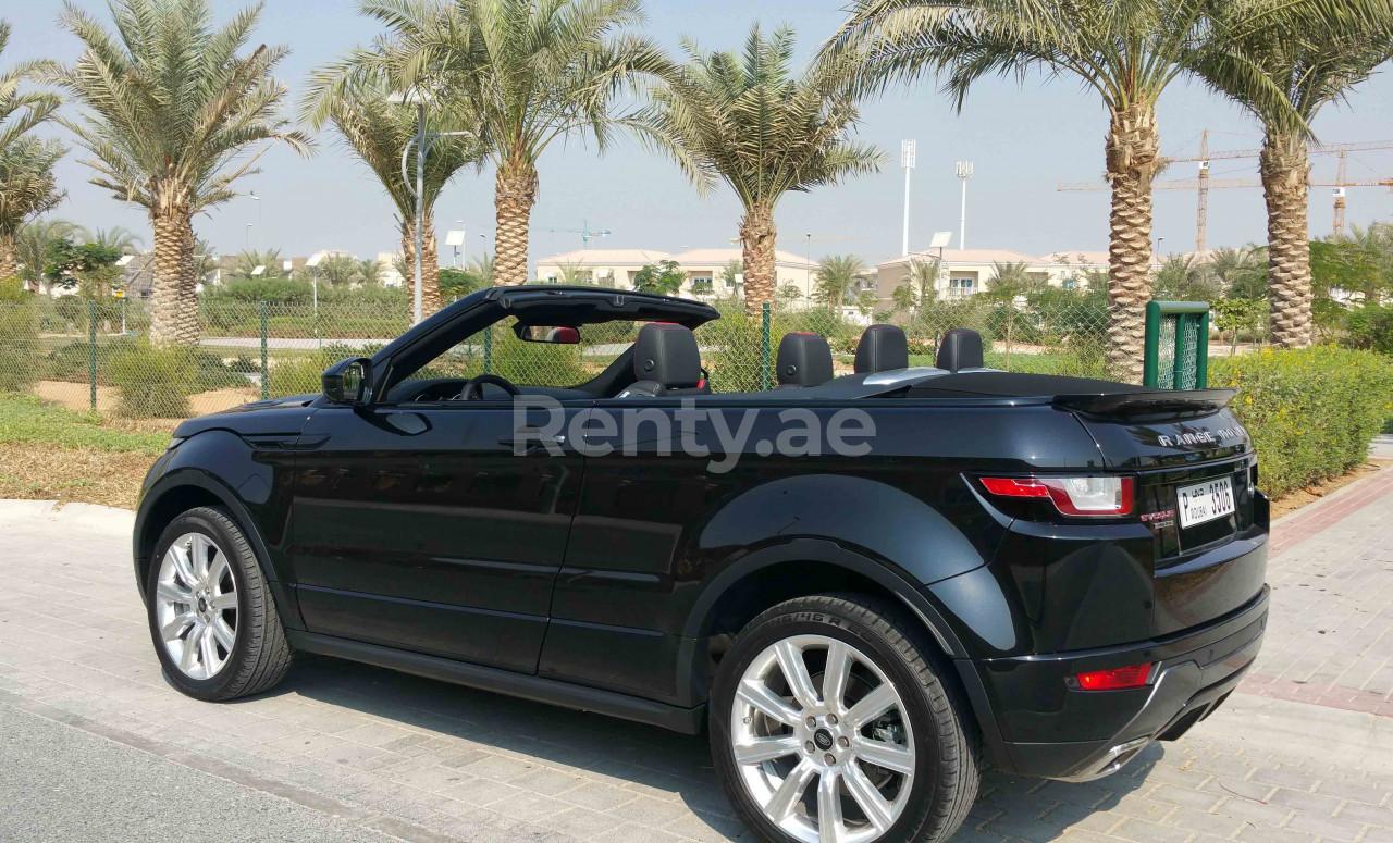 Range Rover Evoque Convertible for rent in Dubai at Renty - photo 3