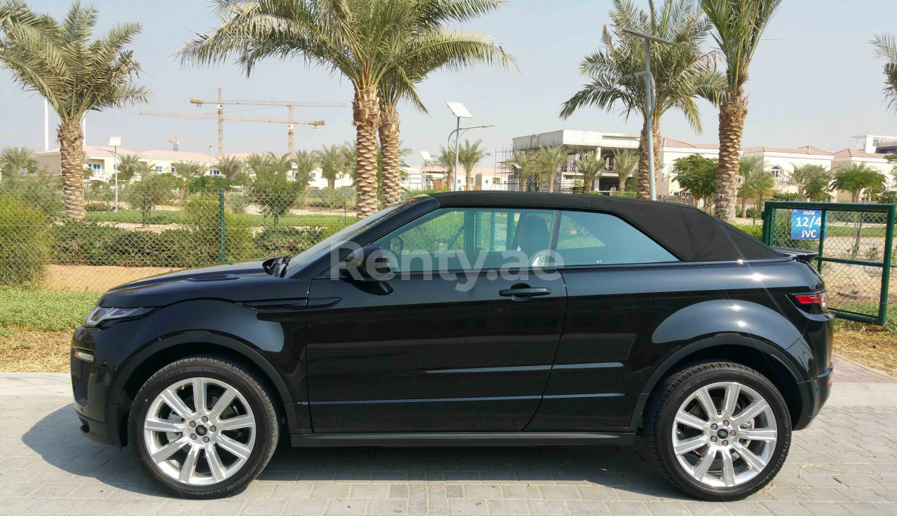 Range Rover Evoque Convertible for rent in Dubai at Renty - photo 4