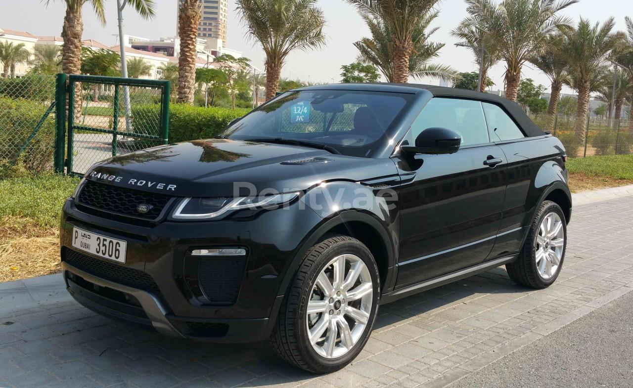 Range Rover Evoque Convertible for rent in Dubai at Renty - photo 5