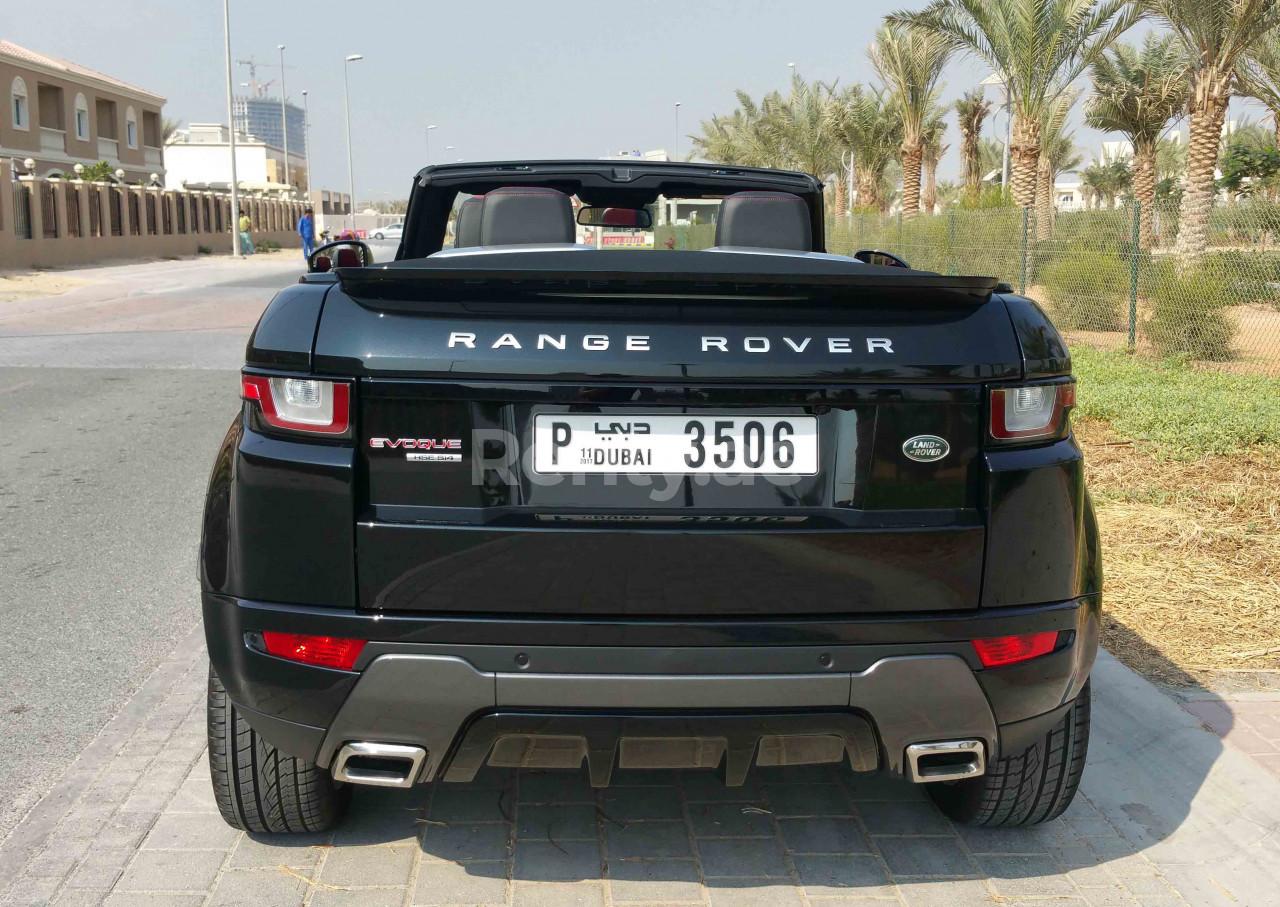Range Rover Evoque Convertible for rent in Dubai at Renty - photo 6