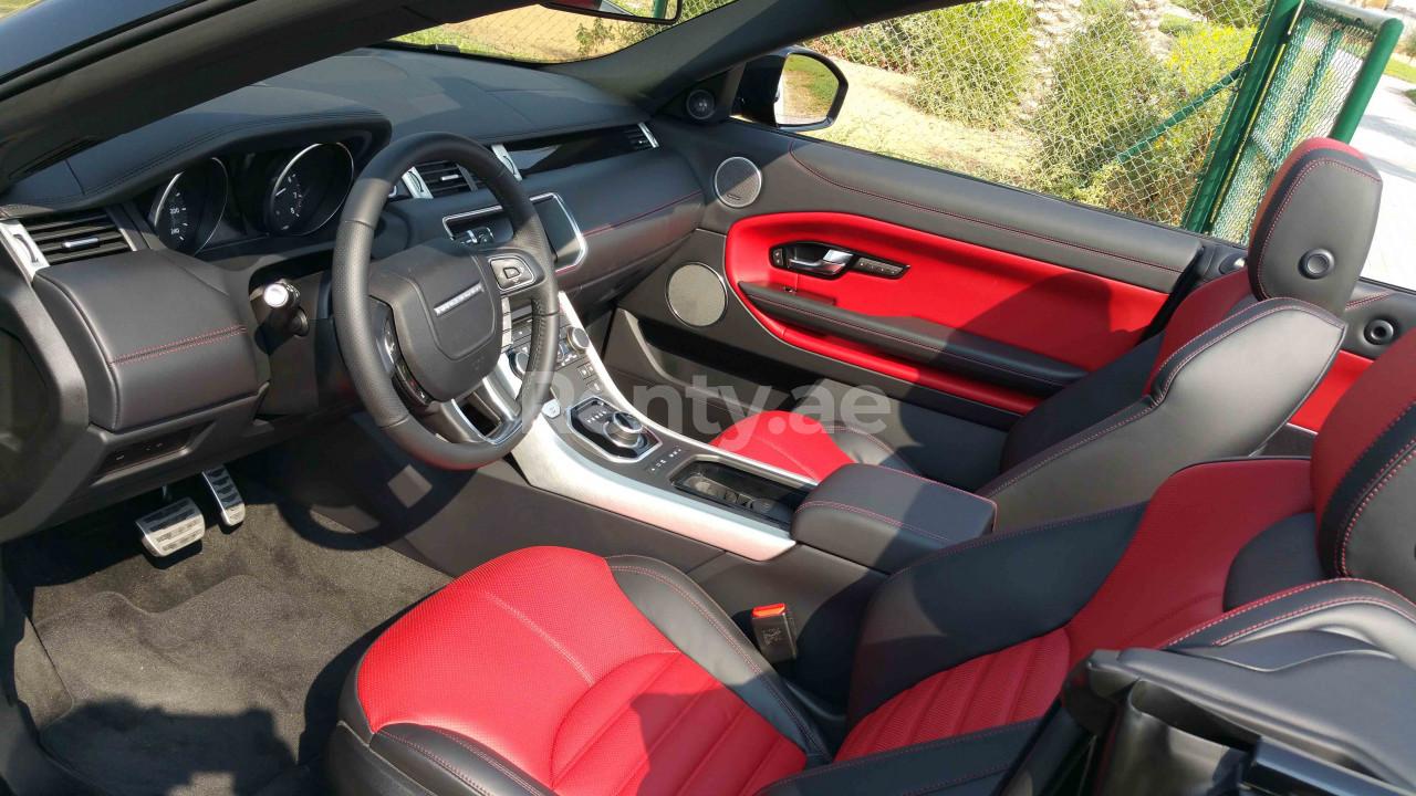 Range Rover Evoque Convertible for rent in Dubai at Renty - photo 8