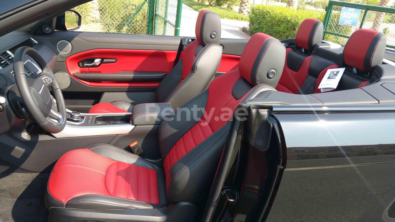 Range Rover Evoque Convertible for rent in Dubai at Renty - photo 9
